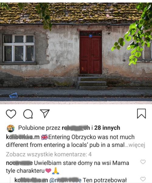 Instagram w dwóch językach