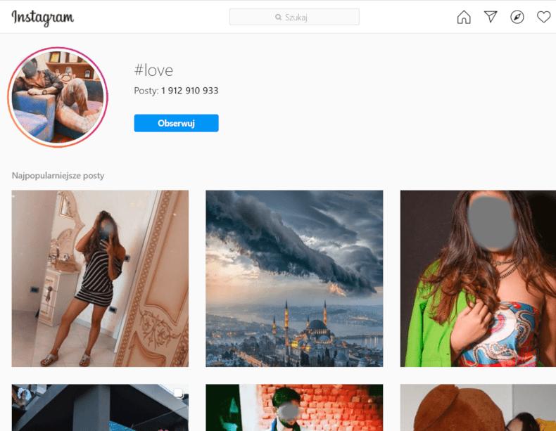 Najpopularniejsze hashtagi na Instagramie nie działają