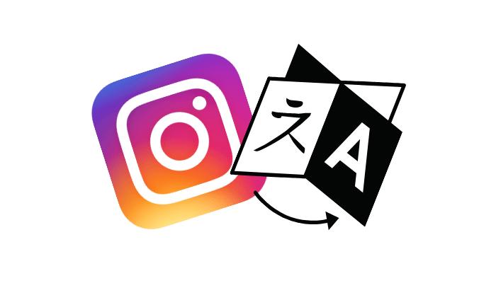 język profilu na Instagramie