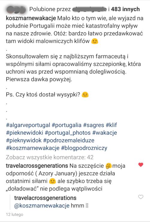 Dobry opis na Instagramie