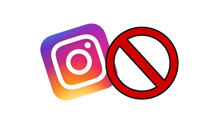 Blokada na Instagramie