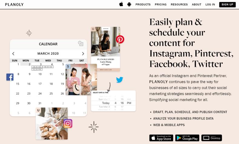 Planoly - planer Instagrama